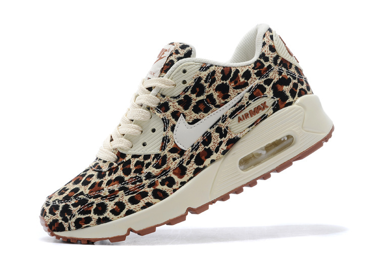 Nike Women Air Max 90 Leopard Print Runnings