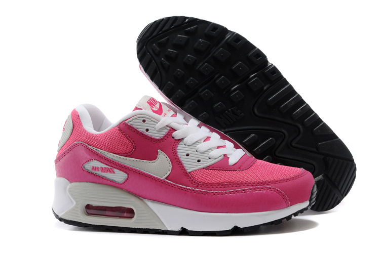 Nike Women Air Max 90 Pink White Runnings