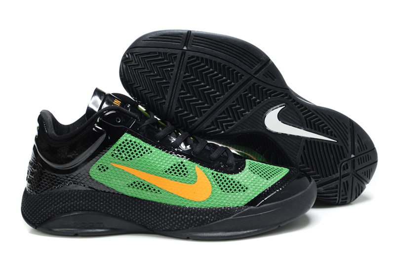 Nike Zoom Hyperfuse 2011 Low 5 Original Black Green Shoes