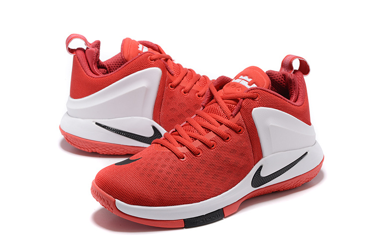 Nike Zoom Lebron Witness Red White Black Shoes