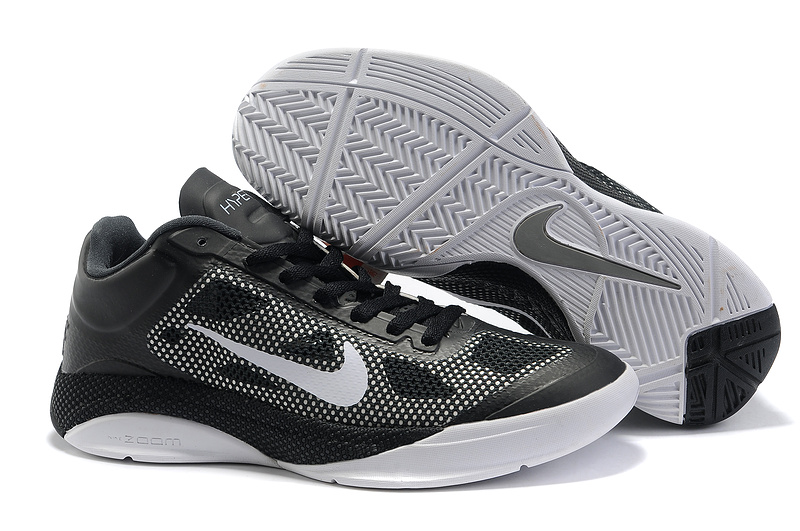 Original Nike Zoom Hyperfuse 2011 Low 5 Black White