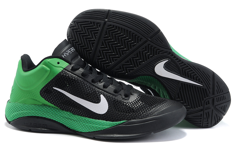 Original Nike Zoom Hyperfuse 2011 Low 5 Classic Green Black Shoes