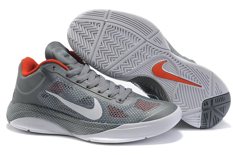 Original Nike Zoom Hyperfuse 2011 Low 5 Classic Grey White Shoes