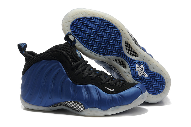Original Penny Hardaway 1 Classic Blue Black Shoes