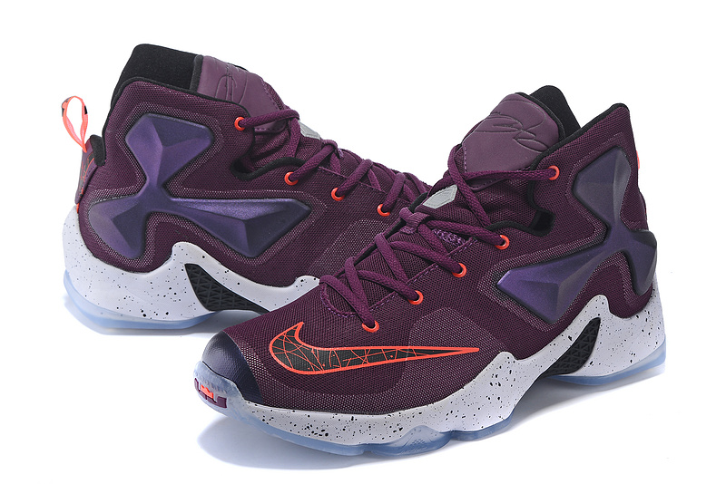 Nike Lebron 13 Purple Red White For Women