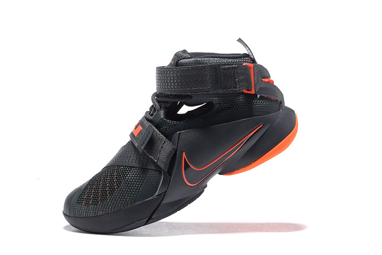 Women Nike Lebron Solider 9 Big Chinese Fir Basketball Shoes