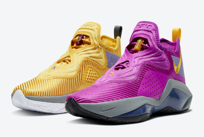 nike lebron james soldier 14 lakers shoes