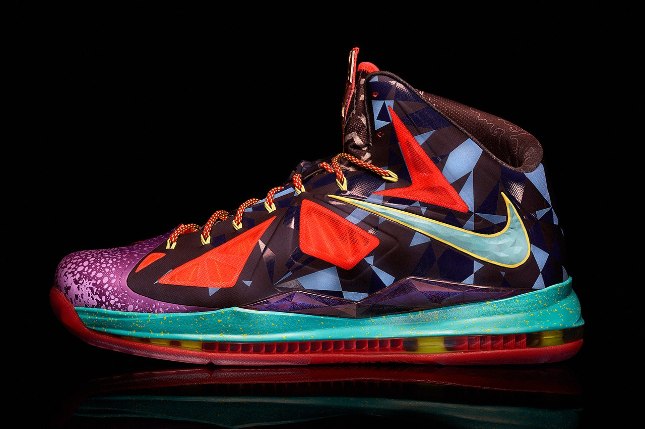 Nike Lebron 10 MVP Version Colorfule Shoes On Sale